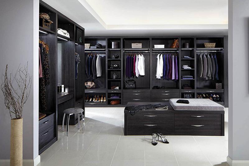 Walk in wardrobes designed by sydney design wardrobes